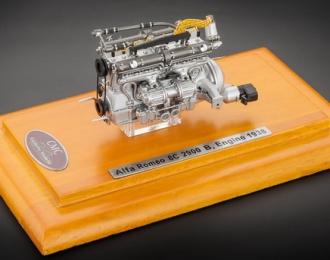 Alfa Romeo 8C 2900 B Engine With Show Case 1938