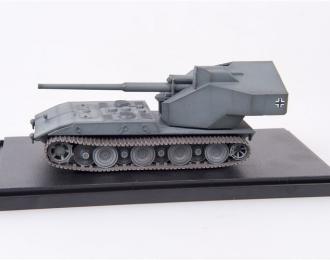 Немецкое 128мм противотанковое орудие на базе тяжелого танка E-100