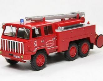 """BERLIET Fourgon-Pompe tonne """"Hors Route"""" SUR FF 6x6  (пожарный) 1972"""