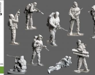 Сборная модель Спецназ ГРУ 90-е годы