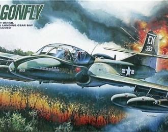 Сборная модель Американский легкий штурмовик Cessna A-37B Dragonfly