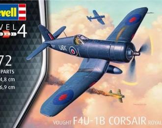 Сборная модель Американский палубный истребитель Chance Vought F4U-1b Corsair (окраска Royal Navy)