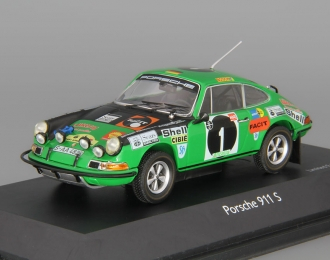 PORSCHE 911S №1 Rally East African Safari (1970), green