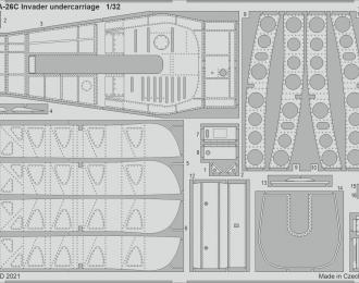 Набор фототравления для A-26C Invader PART II