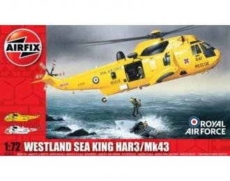 Сборная модель Британский спасательный вертолет Westland Sea King HAR3 / Mk43