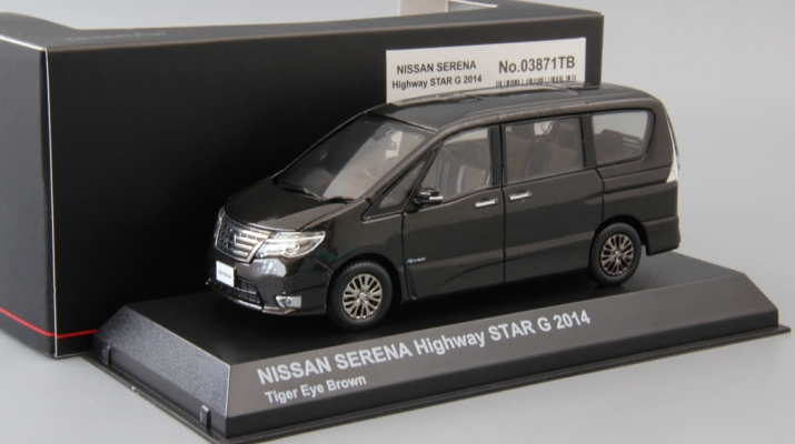 NISSAN Serena Highway Star G (2014), tiger eye brown