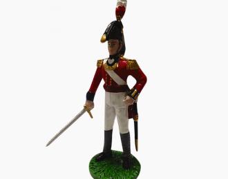 Фигурка Офицер 8-го полка (Короля) тяжелой пехоты. Великобритания, 1813