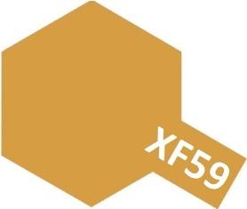 XF-59 Desert Yellow (краска акриловая, пустынно-желтый матовый), 10мл.