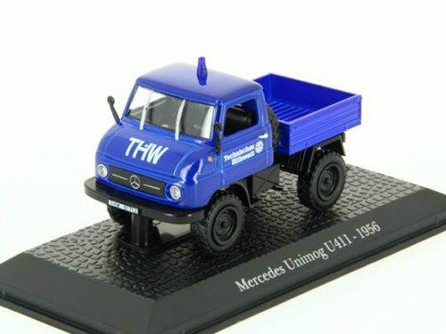 MERCEDES-BENZ Unimog U411 THW (1956), blue