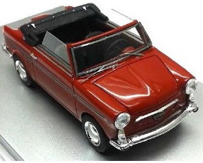 Autobianchi Bianchina Cabrio F 1965 (red)