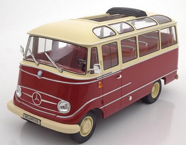 Green//beige Mercedes-benz o 321h 1957