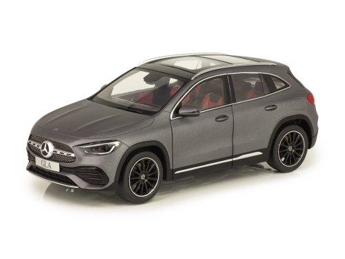 Mercedes-Benz GLA-class 2020 (H247) designo mountain grey magno серый матовый