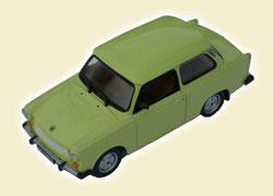 TRABANT 601 Limousine, Kultowe Auta 2, едко-салатовый