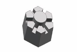 Сборная модель Hexagon Bolt Nuts (German Version)