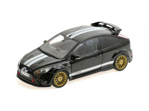 FORD FOCUS RS - 2010 - LE MANS CLASSIC EDITION 1966 FORD MK.II TRIBUTE черный