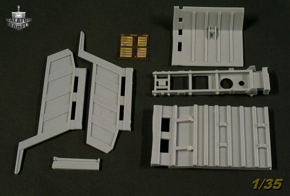Конверсионный набор Самосвал на шасси Миасского грузовика ...  конверсионный
