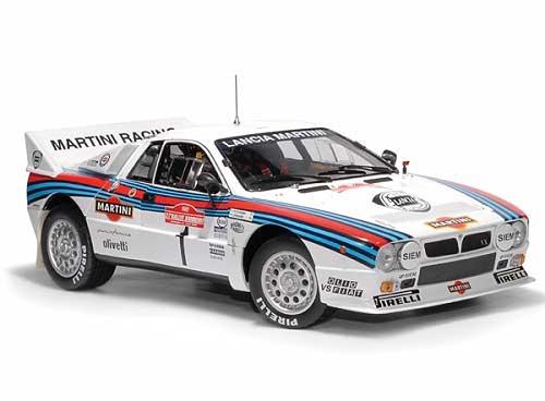 "Lancia Rally 037 ""Martini"" #1 Sanremo 1985 H.Toivonen, J.Pironen"