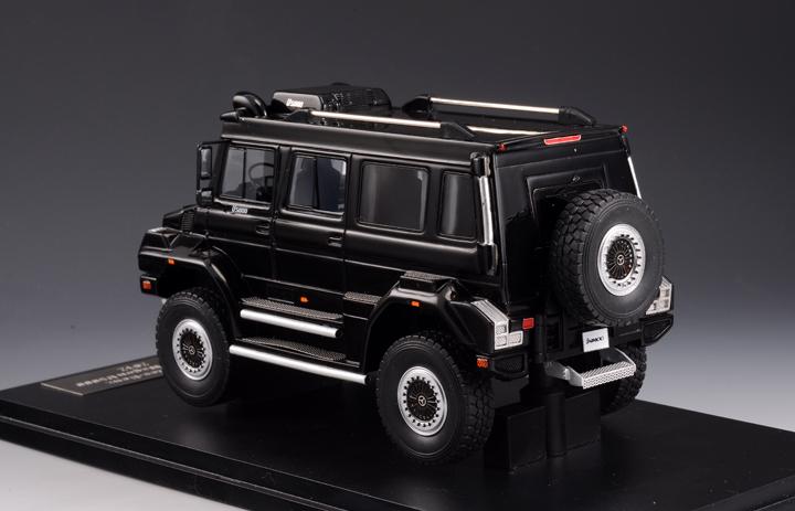 MERCEDES-BENZ Unimog Wagon U5000 4х4 (2012), black