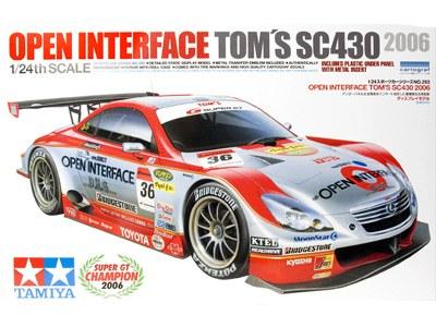 Сборная модель Lexus Open Interface Tom's SC430