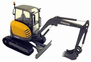 VOLVO ECR48C Excavator, yellow
