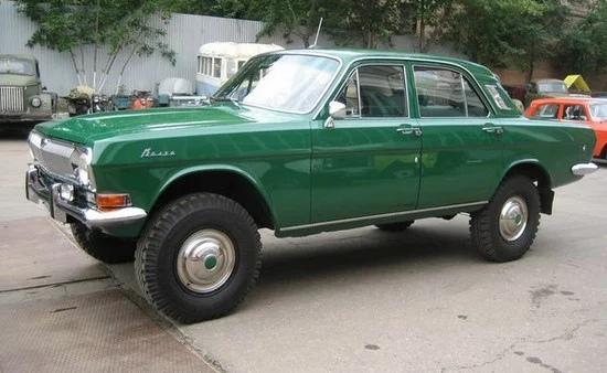 Радиоуправляемая модель Горький 24-95, зеленый