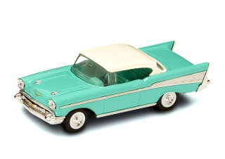 CHEVROLET Bel Air (1957), green