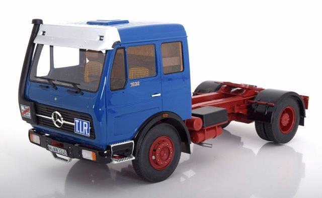 седельный тягач MERCEDES-BENZ NG73 1632 1974 Blue/Red