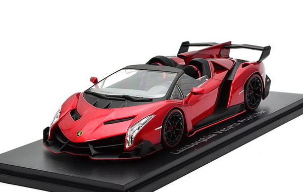 Lamborghini Veneno Roadster (red with red line)
