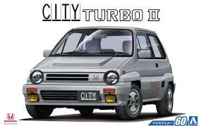 Сборная модель Honda AA City Turbo II '85