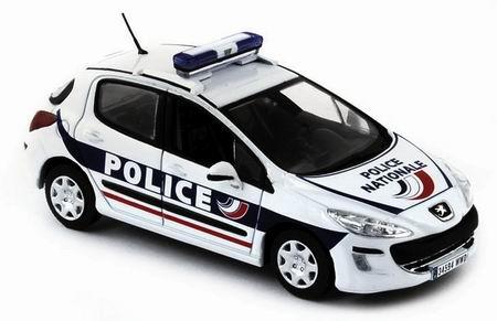 PEUGEOT 308 Police 2008, белый
