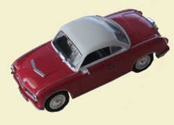 AWZ P-70 Coupe (1958), Kultowe Auta 66, малиновый