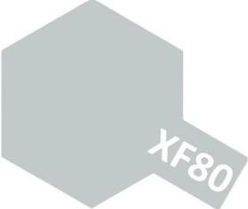 XF-80 Royal Gray (краска акриловая, королевский серый матовый), 10мл.