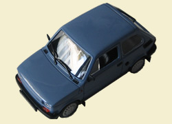 FIAT 126P BIS Kultowe Auta 38, grey