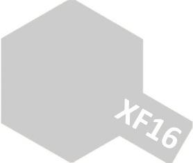 XF-16 Flat Aluminum (краска акриловая, алюминиевый матовый), 10мл.