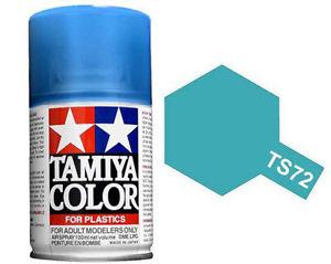 TS-72 Clear Blue (Светло-голубая) Аэрозольная краска 100 мл. (в баллоне)