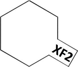 XF-2 Flat White (краска акриловая, белый матовый), 10мл.