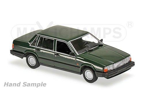 VOLVO 740 GL (1986), dark green