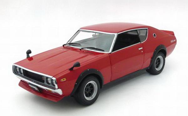 Nissan Skyline GT-R 2000 (KPGC110) Street Sports 1972 (red)