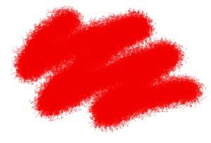 Краска красная (алая) акриловая