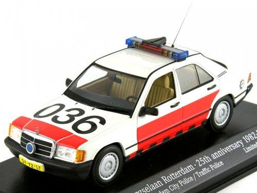 MERCEDES-BENZ 190E W201 Rotterdam City Police 25th anniversary 1982-2007 (1988), white