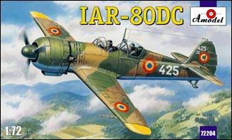 Сборная модель Румынский учебный самолет Iar-80dc