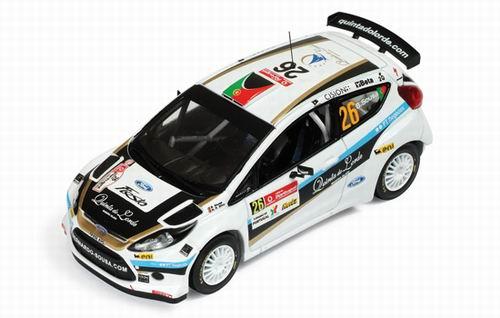FORD Fiesta S2000 #26 4th S-WRC Vodafone Rally Portugal B.Sousa N.R.Da Silva (2010), white