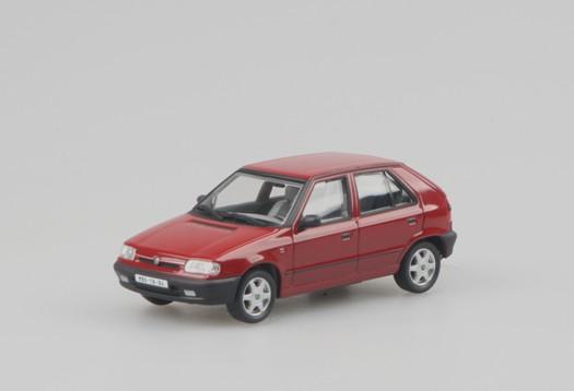SKODA Felicia 1,3 GLXi (1994), red rallye