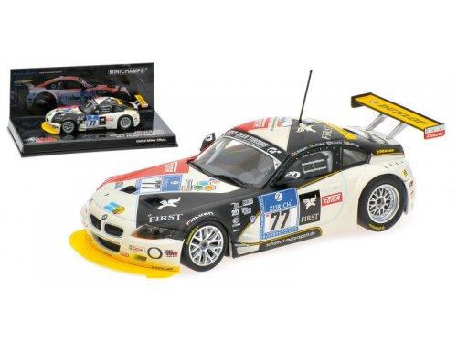 BMW Z4-M Coupe Muller / Sorlie / Farfus / Hurtgen 24h Nurburgring (2009), white