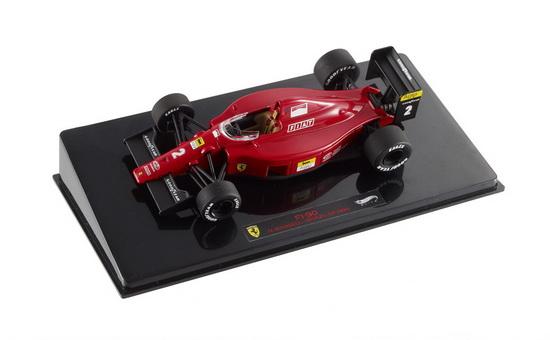 FERRARI 641 No.2 Brazil GP Nigel Mansell (1990), red