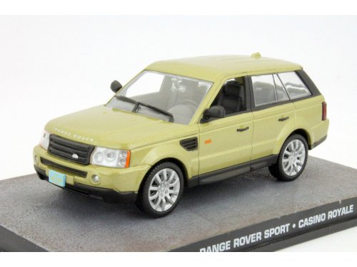 RANGE ROVER Sport Casino Royale (2006), metallic gold