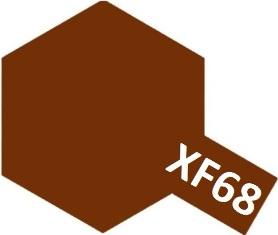 XF-68 NATO Brown (краска акриловая, коричневый НАТО матовый), 10мл.