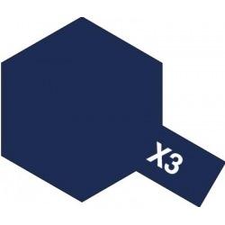 X-3 Royal Blue (краска эмалевая, королевский синий глянцевый), 10мл.