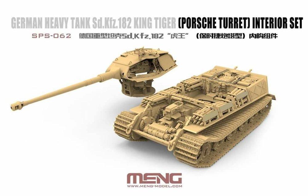 фототравление eduard edbig3534 1/35 king tiger porsche
