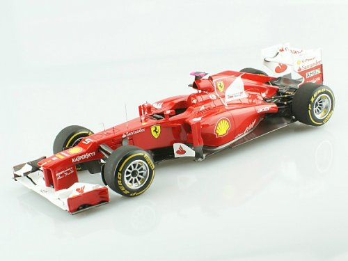 FERRARI F2012 as driven by the World Champion F. Alonso, RED